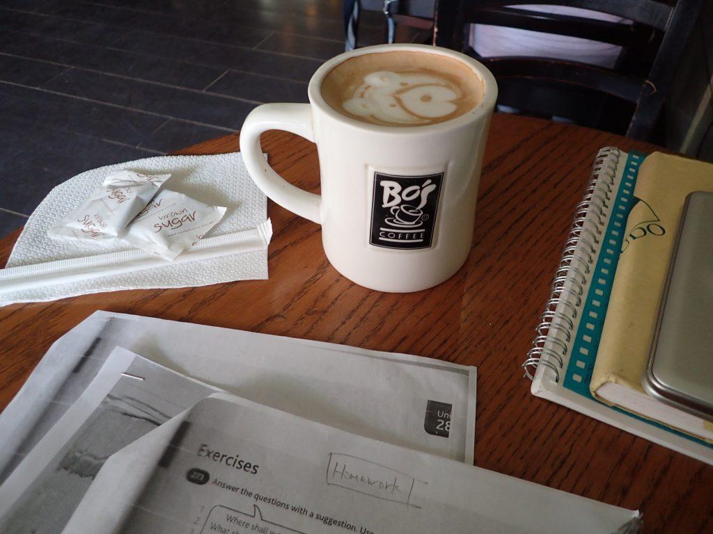 カフェ勉強も