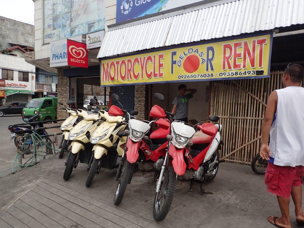 バイクのレンタル