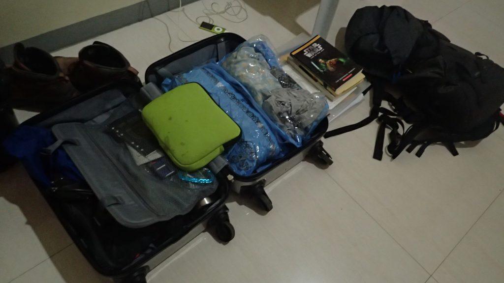 フィリピン留学・荷物